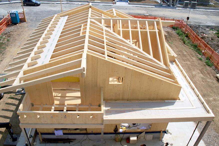 Ecologicasa ecologicasa for Case in legno xlam